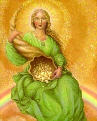 Абундантия богиня рога изобилия