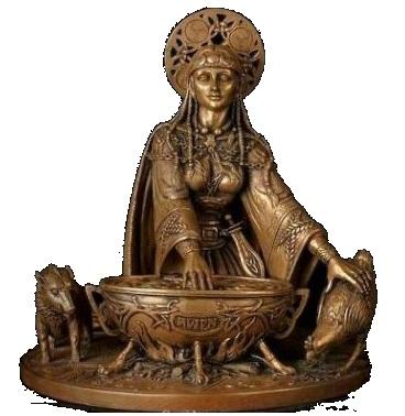 Богиня Каридвен. Женская сила Вдохновения
